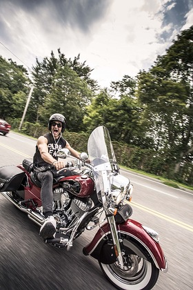 Gilles Marini on the 2016 Kiehls LifeRide for amfAR