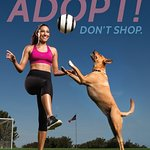 Soccer Star Christen Press Kicks Off PETA's Adopt, Don't Shop Campaign