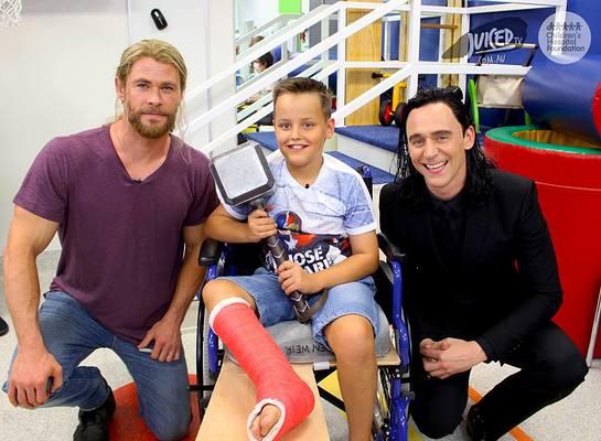Chris Hemsworth And Tom Hiddleston Take Thor And Loki To