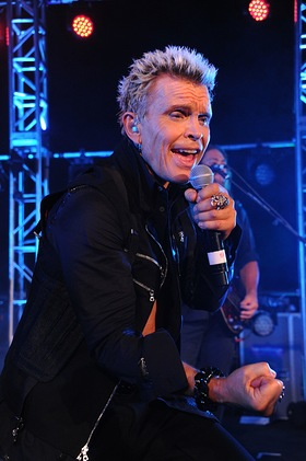 Billy Idol at Prostate Cancer Foundation Gala