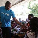 Dikembe Mutombo Visits Mozambique With UNICEF