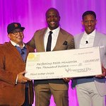 Terry Crews Accepts $10,000 Donation On Behalf Of Flint Water Crisis Ministry