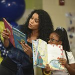 Jordin Sparks Helps Reading Is Fundamental Celebrate 50 Years