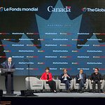 Ban Ki-moon And Bono Speak At Conference In Canada