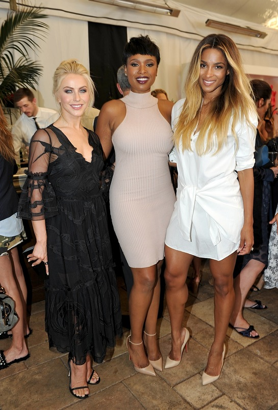 Julianne Hough, Jennifer Hudson, and Ciara