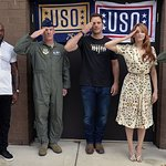 Chris Pratt Attends USO Screening Of The Magnificent Seven