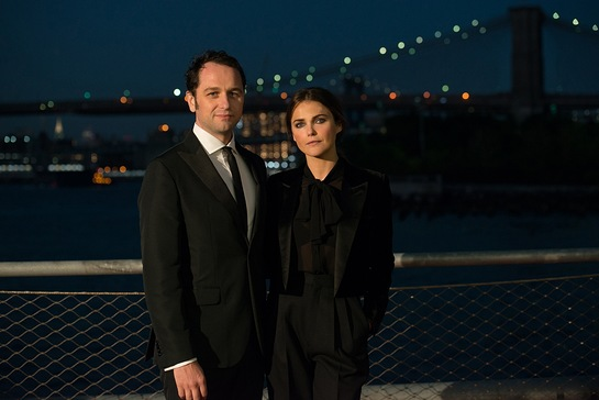 Matthew Rhys and Keri Russell - Stars of TV Show The Americans