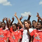 Victoria And Brooklyn Beckham Visit Kenya With UNAIDS