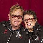 Elton John And Tennis Stars Raise $600,000 At World TeamTennis Smash Hits