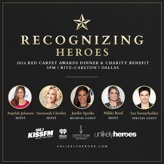 November 12, 2016 Red Carpet Benefit featuring Nikki Reed, Ian Somerhalder, Jordin Sparks, Savannah Chrisley and Anjelah Johnson
