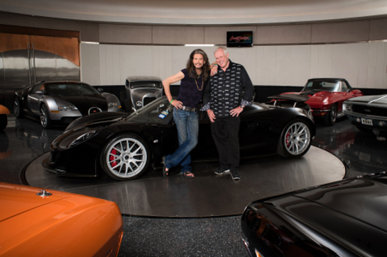 Steven Tyler to sell an extremely rare Hennessey Venom GT Spyder
