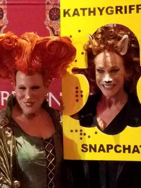 Bette Midler and Kathy Griffin