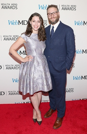 WebMD People's Choice Award recipients Seth Rogen and Lauren Miller Rogen attend the 2016 WebMD Health Heroes Awards