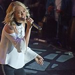 Carrie Underwood Performs Shipboard Concert For Military Families