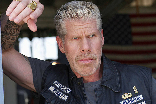 Ron Perlman Sons of Anarchy Star embraces the Carry the Challenge ONE campaign