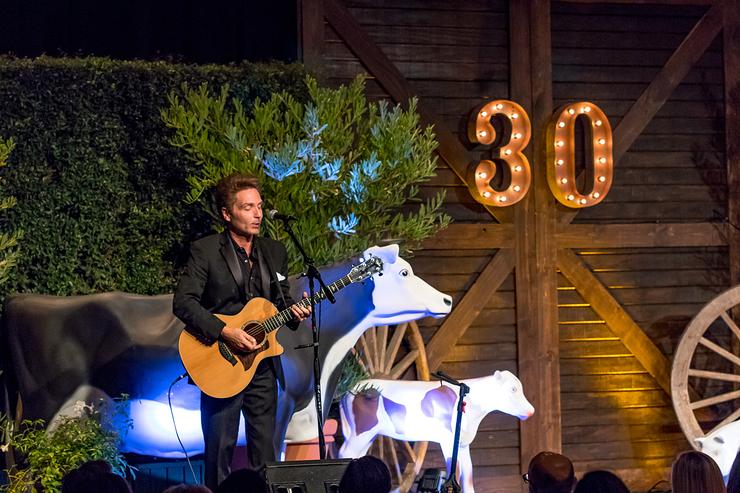Richard Marx Performs At Farm Sanctuary 30th Anniversary Gala