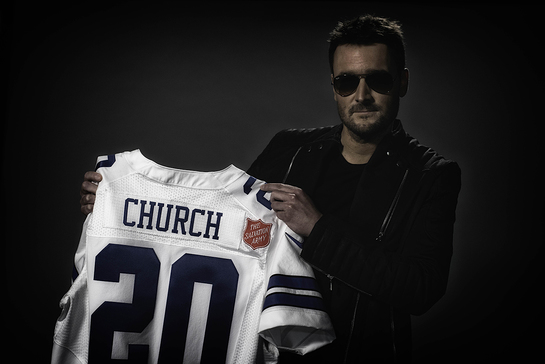 Eric Church to Kick Off 126th Salvation Army Red Kettle Campaign
