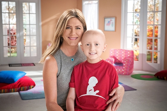 JENNIFER ANISTON JOINs MARLO THOMAS FOR 13TH ANNUAL ST. JUDE THANKS AND GIVING CAMPAIGN
