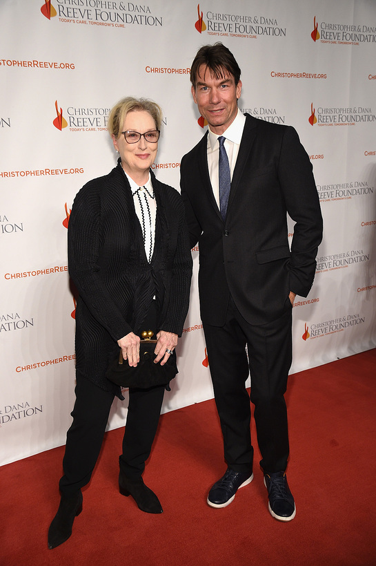 Meryl Streep and Jerry O'Connell
