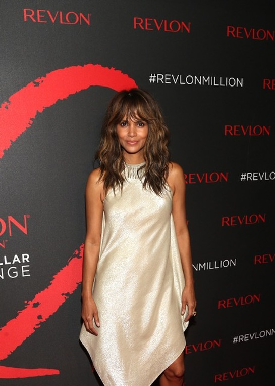 Halle Berry Celebrate Revlon's 2nd Annual LOVE IS ON Million Dollar Challenge Winners