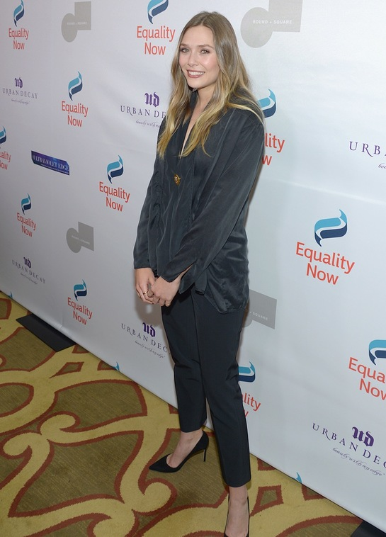 Elizabeth Olsen at EQUALITY NOW'S THIRD ANNUAL MAKE EQUALITY REALITY GALA