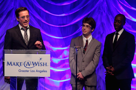 Robert Downey Jr Accepts Award