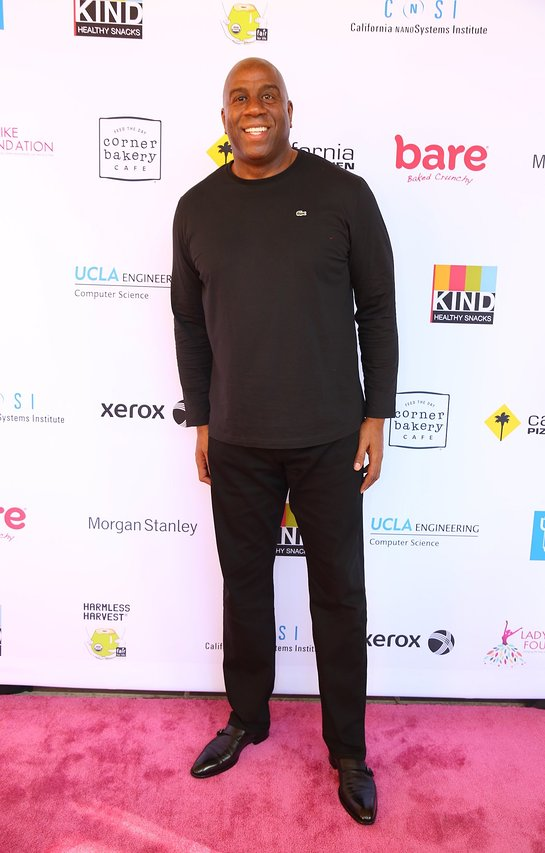 Magic Johnson Attends 5th Annual Ladylike Day