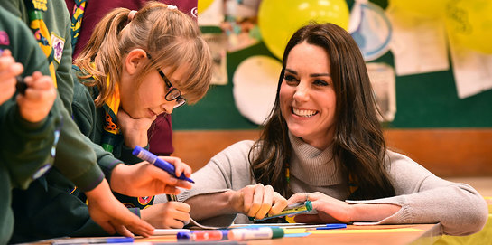 The Duchess Of Cambridge Helps Celebrate 100 Years Of Cub Scouts