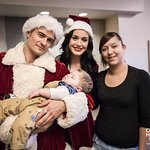 Orlando Bloom And Katy Perry Take Christmas Cheer To Children's Hospital