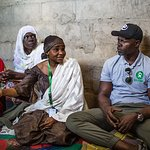 Djimon Hounsou Visits Nigeria With Oxfam