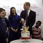 The Duke And Duchess Of Cambridge Visit A Child Bereavement UK Centre