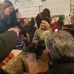 Pamela Anderson Delivers Warm Vegan Hats And Gloves To Refugees