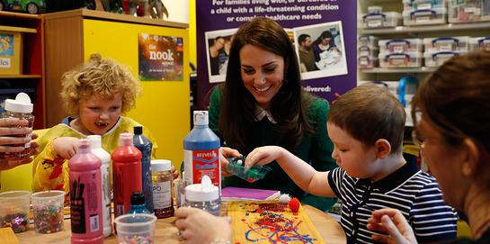 The Duchess of Cambridge visits EACH Hospice in Quidenham