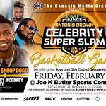 NFL Star Antonio Brown To Host Celebrity Charity Basketball Game During Super Bowl
