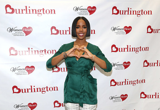 Kelly Rowland, Grammy award-winning recording artist and heart health advocate, teams up with Burlington Stores & WomenHeart