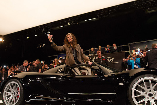 Steven Tyler auctions his rare Hennessey Venom GT sports car for Janie's Fund