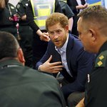 Prince Harry Visits London Ambulance Service For Time To Talk Day
