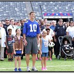 Eli Manning Awarded Walter Payton NFL Man Of The Year Award