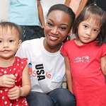 Miss USA Visits Smile Train Cleft Patients At Local Hospital In The Philippines