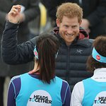 Prince Harry Visits Team Heads Together For Mental Health Campaign