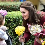 Duchess Of Cambridge Visits Action For Children In Wales
