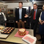 Jamie Oliver Joins The Duchess Of Cornwall For Launch Of The Great Get Together