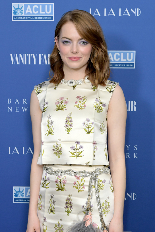 Emma Stone Attends Vanity Fair Event
