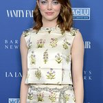Emma Stone Attends Vanity Fair Event To Celebrate La La Land