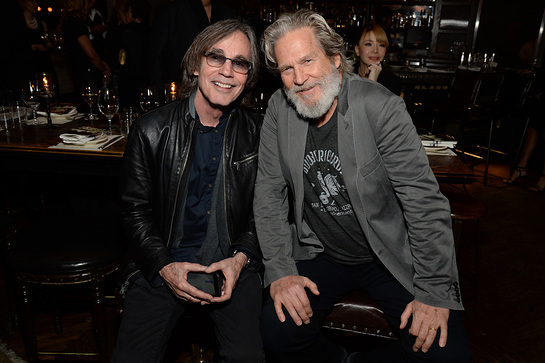 Jackson Browne and Jeff Bridges
