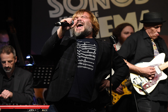 Jack Black at Songs from the Cinema concert