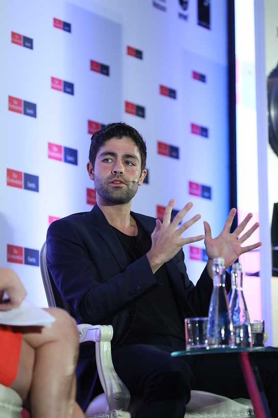 Adrian Grenier at 2017 World Ocean Summit