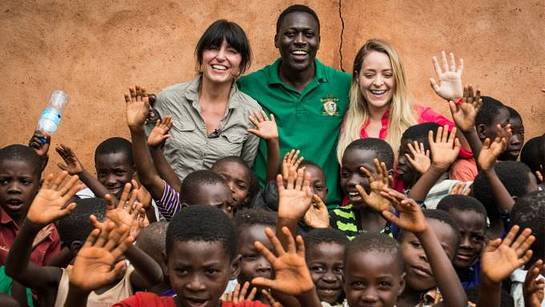 Davina McCall and YouTube beauty vlogger Fleur de Force recently travelled to Tanzania