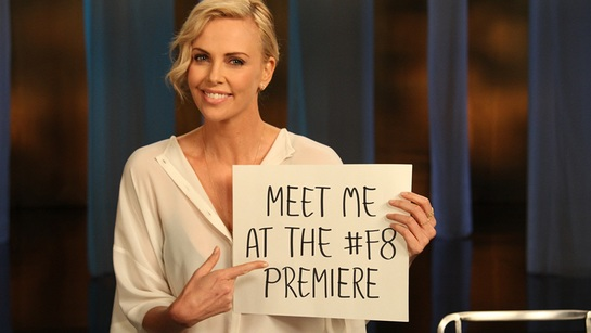 Join Charlize Theron at The Fate Of The Furious premiere