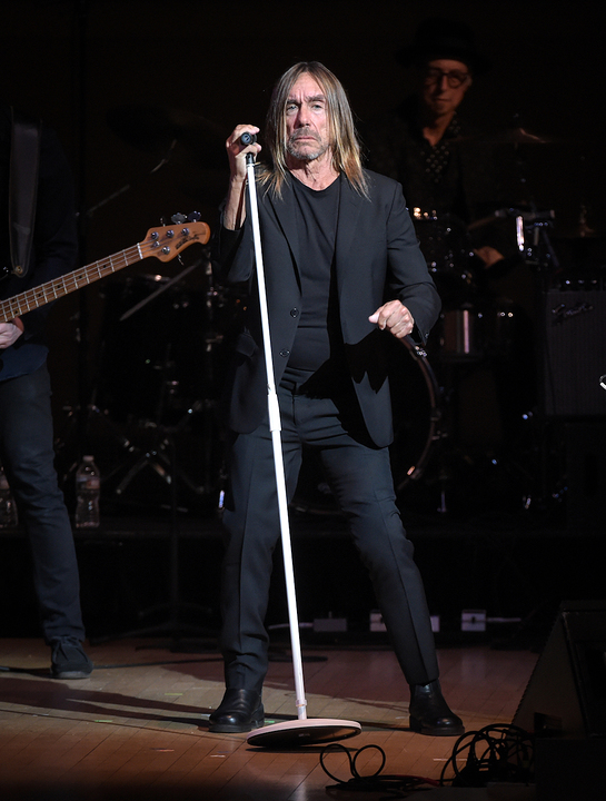 Iggy Pop performs at the Tibet House US 30th Anniversary Benefit Concert & Gala